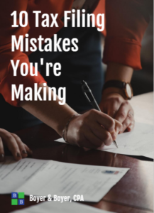 10 Tax Filing Mistakes