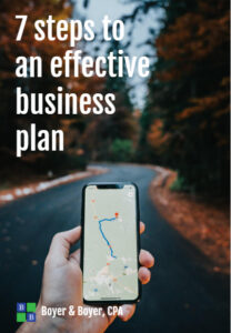 Effective Business Plan Cover