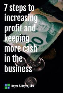 Increasing Profit Cover